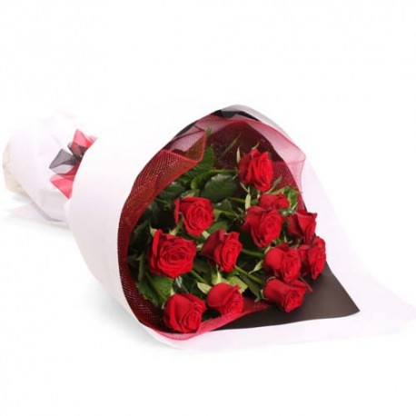 Valentine Magic of Twenty Red Roses
