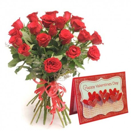 Love Bouquet of Thirty Red Roses