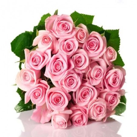 Bunch of Colorful Carnation and Roses For Valentine Day