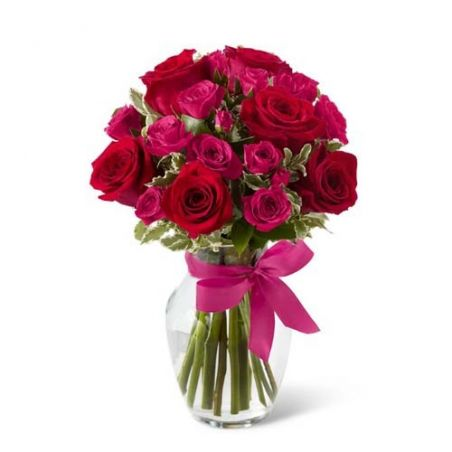Pure Romance Bouquet of Valentines Gift