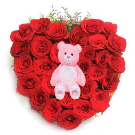Perfect Valentine Love Hug