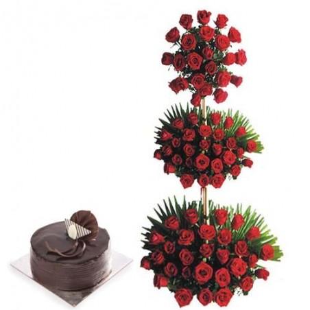 Basket of Valentines Wishes