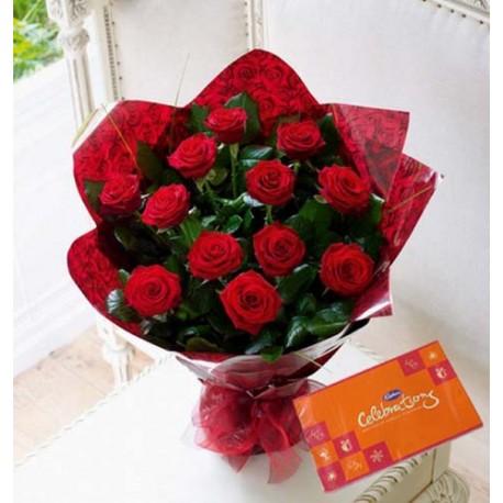 Valentine Pink Rosy Gift