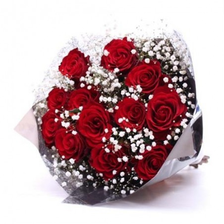 Red Roses Valentine Bouquet