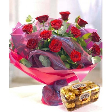 Romance Basket Just For You