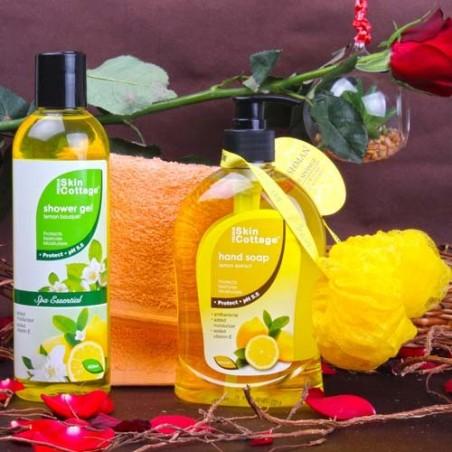 Skin Cottage Lemon Fragrance Body Care Beauty Hamper for Unisex
