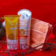Face Care Honey Fragrance Beauty Hamper for Female