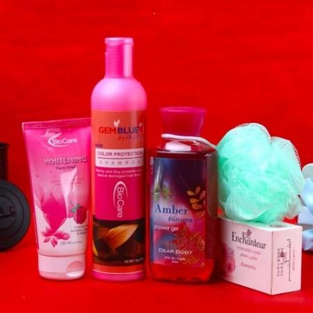 Bio Care Romantic Fragrance Body Care Beauty Hamper for Unisex