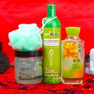 Gem Blue Body Care Beauty Hamper for Unisex