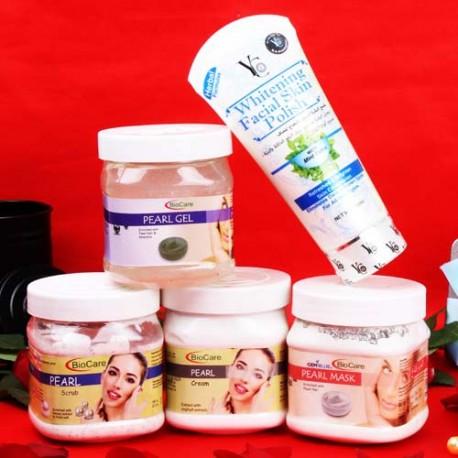 Bio Care Pearl Body Care Beauty Hamper for Unisex