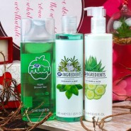 Boots Shower Gel with Shampoo and Body Lotion Gift Set for Her