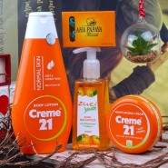 Collection of Body Care Gift Set for Her