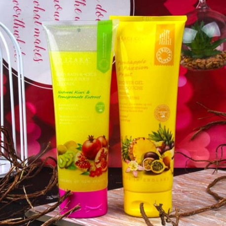 Grace Cole Shower Gel with Body Bath and Scrub for Her