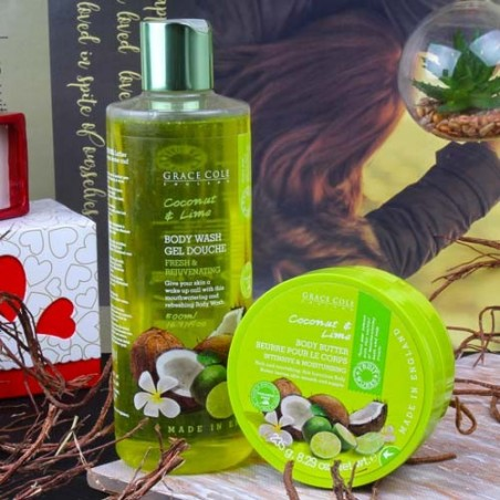 Grace Cole Coconut and Lime Gift Set for Her