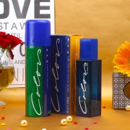 Benetton Color Perfume and Deodorant Combo For Men