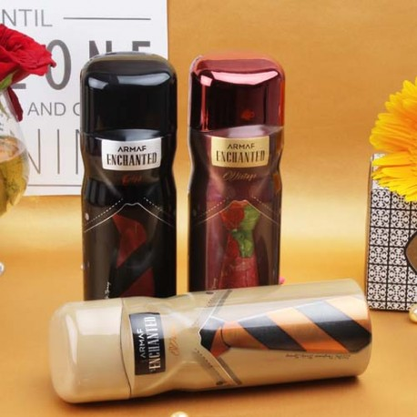 Armaf Enchanted Deodorants Gift Set For Mens