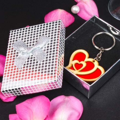 Heart 2 Heart Key Chain