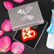 Exclusive Heart Shape I Love You Key Chain