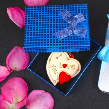 Designer Heart Shape Key Chain