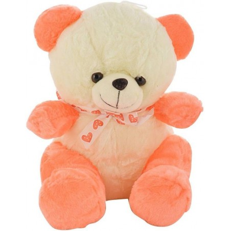 Chunmun Sitting Teddy Bear - 35 cm  (Carrot , Orange)