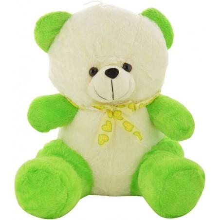 Chunmun Sitting Teddy Bear - 35 cm(Green White)