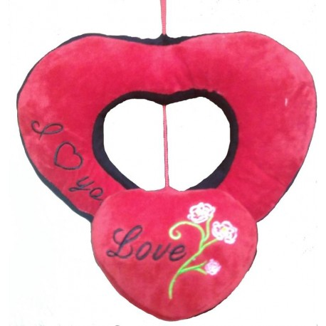 Chunmun Hanging Heart in Heart - 30 cm  (Red)