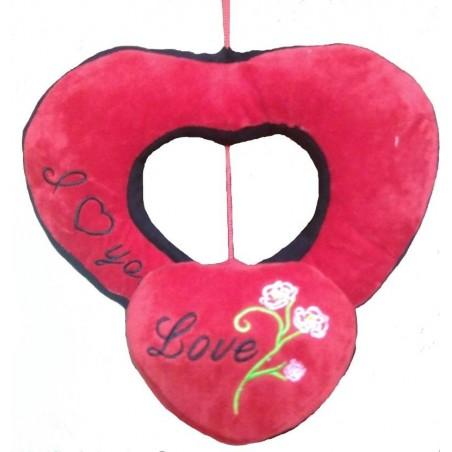 Chunmun Hanging Heart in Heart - 30 cm(Red)