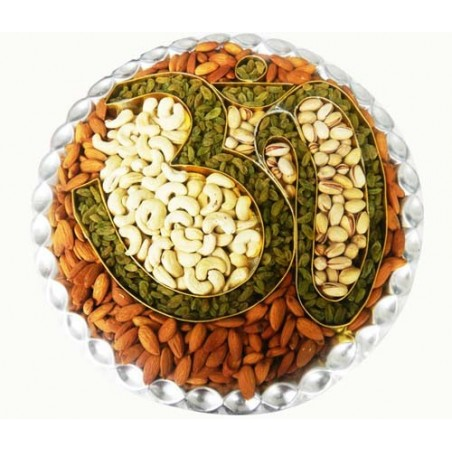 Bikanervala Om Dry fruit platter