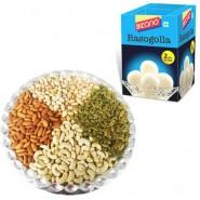 Bikano Rasgulla with Dryfruits