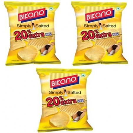 Bikano Chips - simply salted