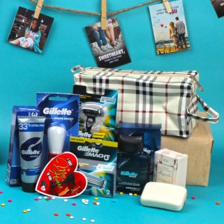 Gillette Products Gift Kit For Him