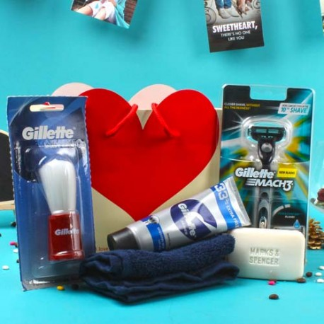 Gillette Shaving Gift Bag For Him