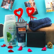 Bio Care Gift Hamper with Wallet For Him