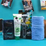 Gillette Shaving Gift Kit with YC Whitening Face Wash For Him