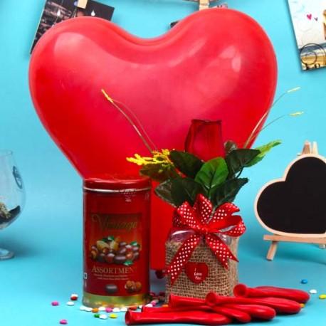 Valentine Vintage Choco Combo