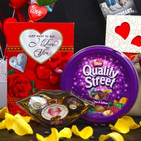 Royal and Quality Valentines Chocolate Combo