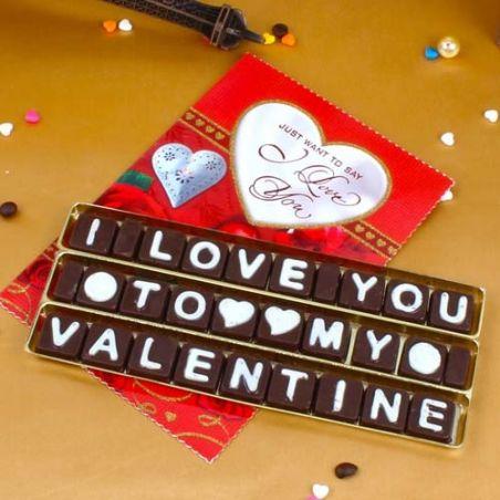 I Love You Gift Hamper For My Valentine