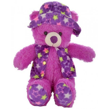 Teddy Bear with Cap and Jacket