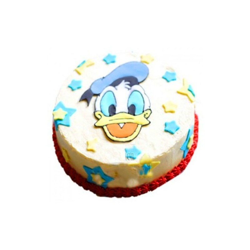 Groovy Donald Duck Cake 2Kg Orderyourchoice Funny Birthday Cards Online Elaedamsfinfo
