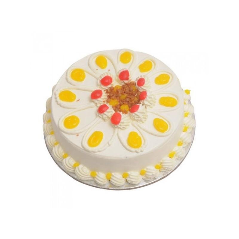 Vanilla Eggless Cake (Sugar & Spices)