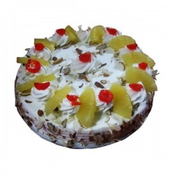 Pineapple Eggless Cake (Sugar & Spices)