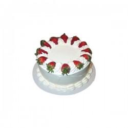 Strawberry Butter Cream Cake  - 2 Bound (Flurys)