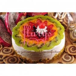 Fruit Eggless Cake  - 2 Bound (Flurys)