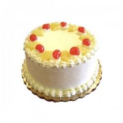 Strawberry Eggless Cake  - 2 Pound  (Globe Bakers)