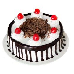 Black forest Eggless cake (Sugar & Spices)