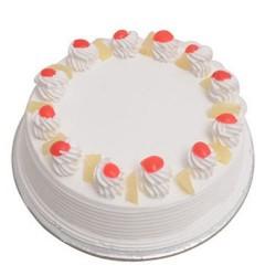 Vanilla Eggless Cake (Kookie Jar)