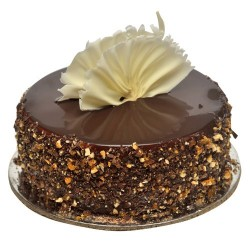 Chocolate Nougatine Cake - 2 Pound (Kookie Jar)