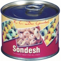 CANNED SANDESH - 200Gms(K.C.Das)