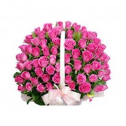 50 Rose Basket
