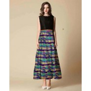 Multi Colour Long Frock